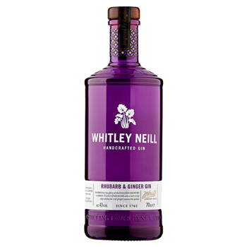 Gin Whitley Neill Rhubarb & Ginger 70cl