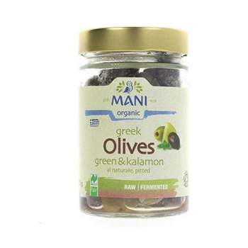 Olives Kalamata and Green Mixed - Mani