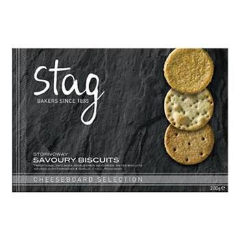 Biscuits Savoury Cheeseboard Selection - Stag Bakery