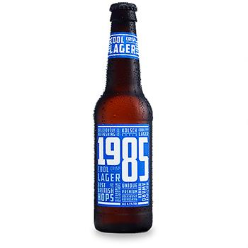1985 - Lager Wye Valley Brewery 330ml Bottle