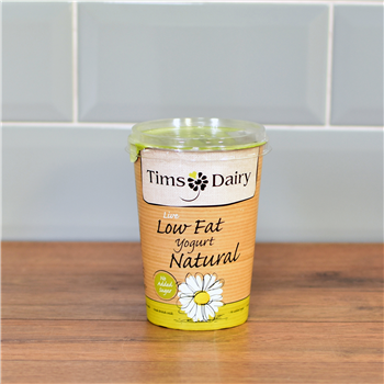 Low Fat Natural Live Yoghurt - Tim's Dairy 500g