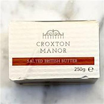 Butter Croxton Manor 250g Salted