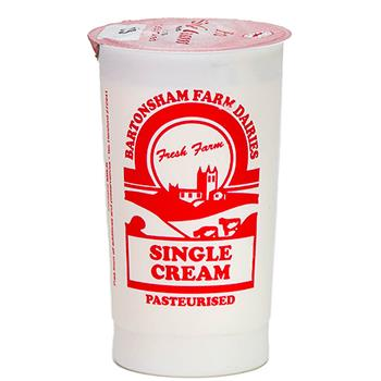 Cream Single - Bartonsham Farm Dairy