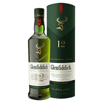 Whisky Glenfiddich 12 Year Single Malt 70cl