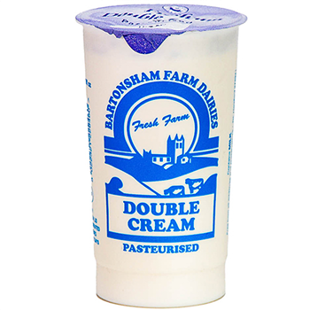 Cream Double Bartonsham Farm 1 Pint