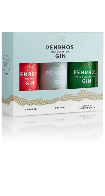 Gin Penrhos Miniature Trio - Copper Distilled (3x5cl)