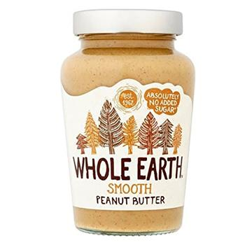 Peanut Butter Smooth - Whole Earth 340g